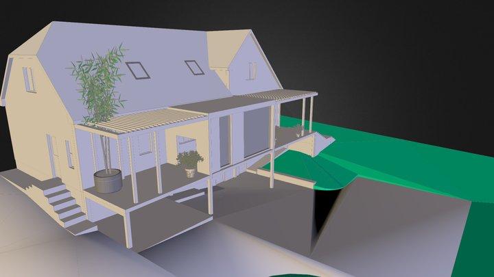 House 03 3D Model