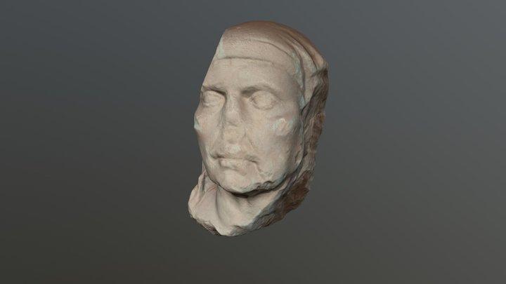 Roman portraiture female 3D Model