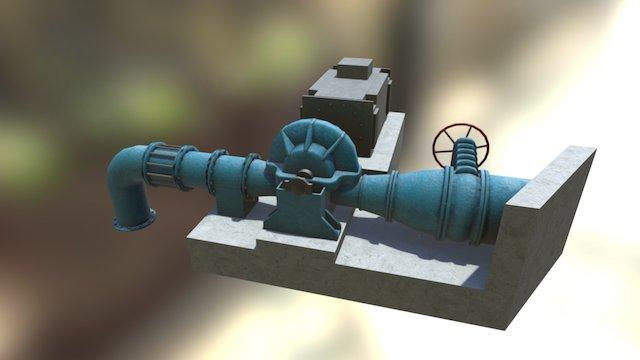 waterpump_full2_low22 3D Model