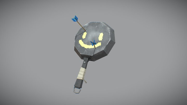 a'Pan'Calibur 3D Model