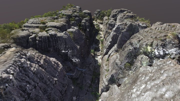 Grampians Grand Canyon, Australia 3D Model