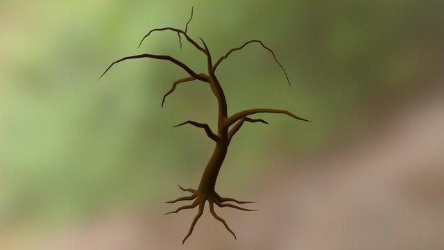 Dead Tree   Blender 3D Model