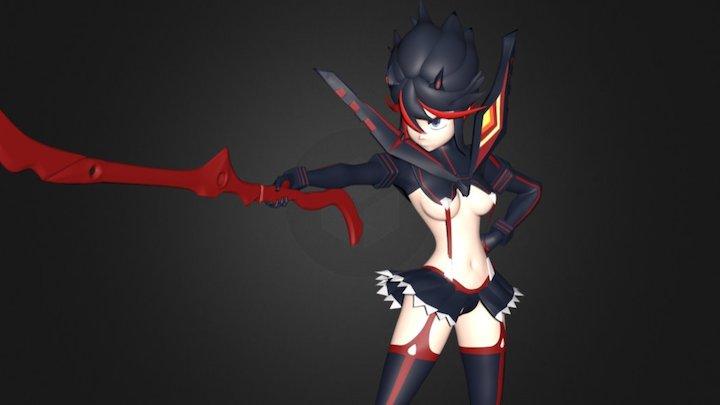 Kill La Kill Ryuko 3D Model