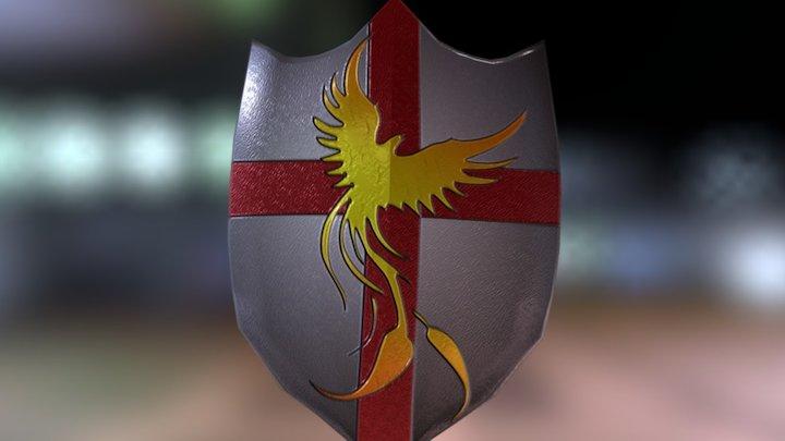 Shield of the Phoenix 3D Model