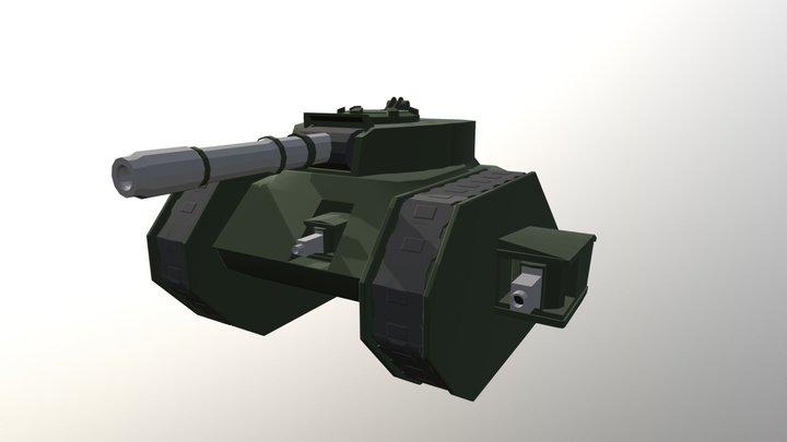Leman Russ Tank 3D Model