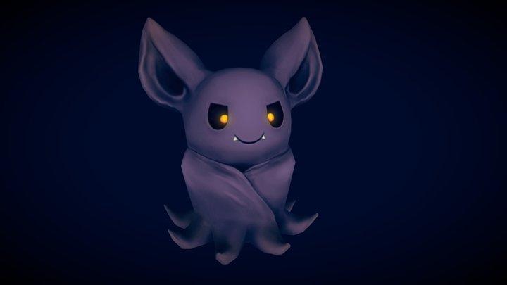Evil Bat 3D Model