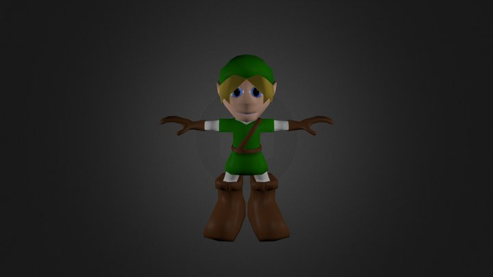 AdventureBoy 3D Model