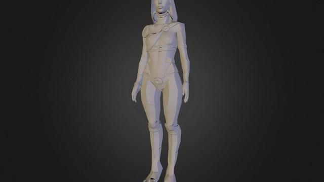 44 3D Model