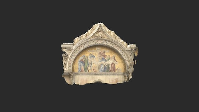 Facade Basilique St Marco 3D Model