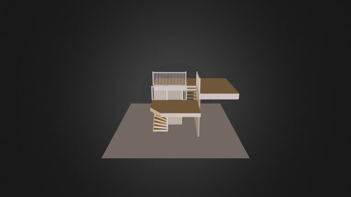 Trappa_Trappor_Stair_pvikdefault 3D Model
