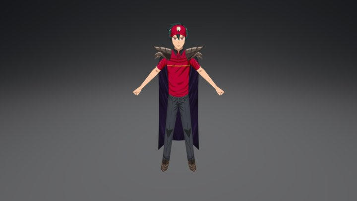 Maou Sadao [Fan Art] 3D Model