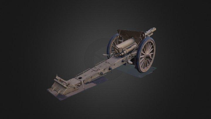 Cannon 3D Scan (iPhone 7 Plus) 3D Model