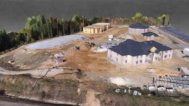 Abernathy Apartments Construction Site 3D Model