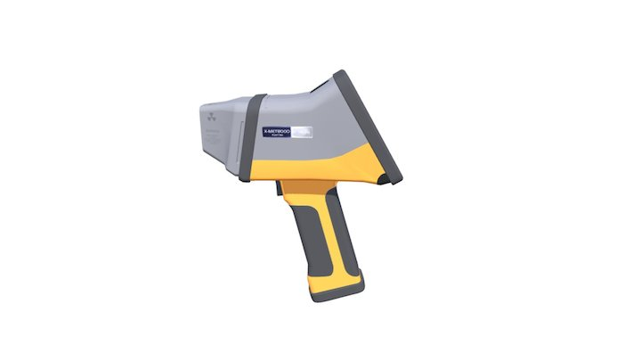 Handheld XRF Analyser - X-MET8000 3D Model