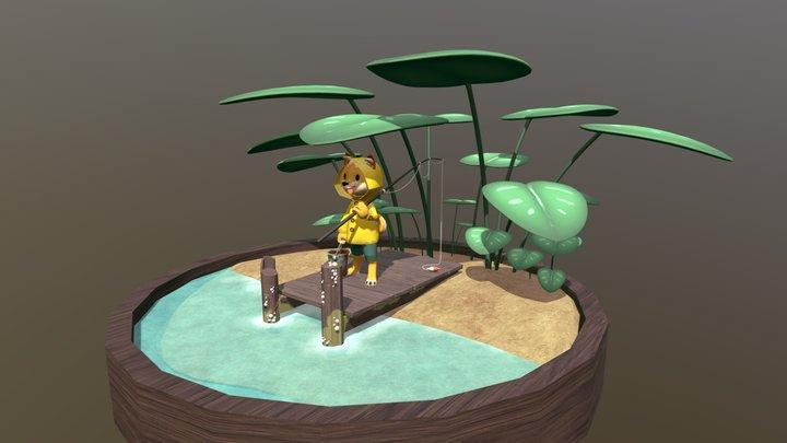 Fisher Shiba 3D Model