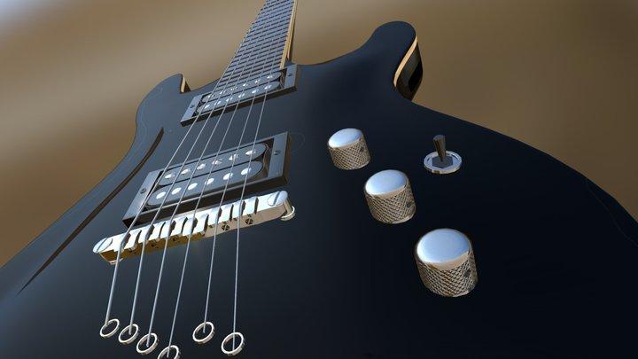 Ibanez Portfolio 3D Model