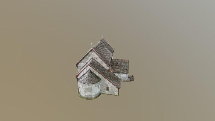 Gökhem exterior 3D Model