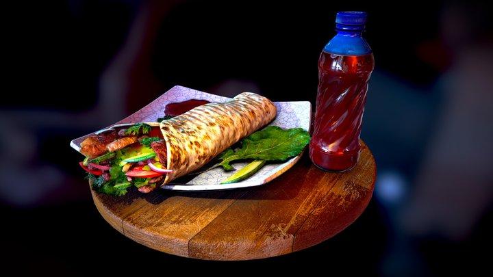 Fast-food 3D Model