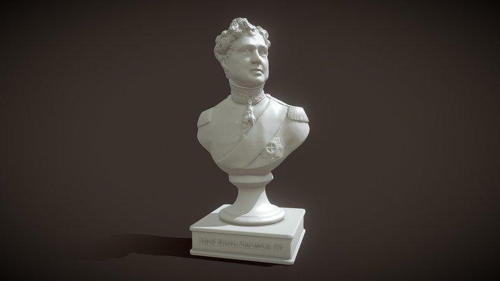 King George IV Bust 3D Model