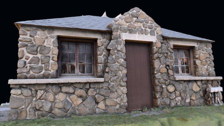 Building at Camp George West: test 3D Model