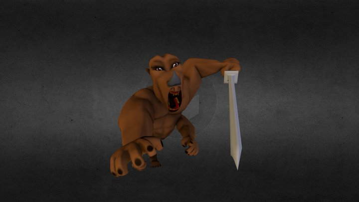 Arm monster 3D Model