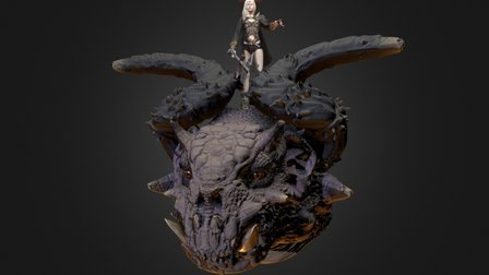 Dragon Commander 3D Model