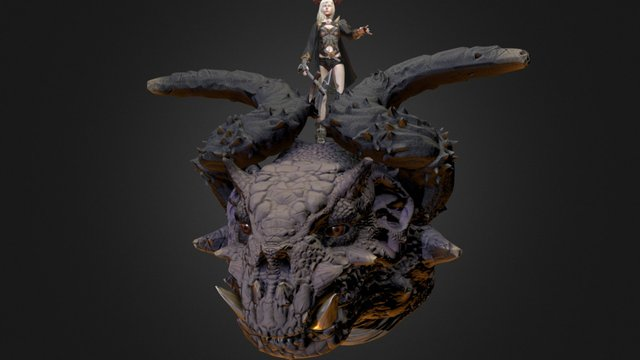 Dragon Commander 3D Model