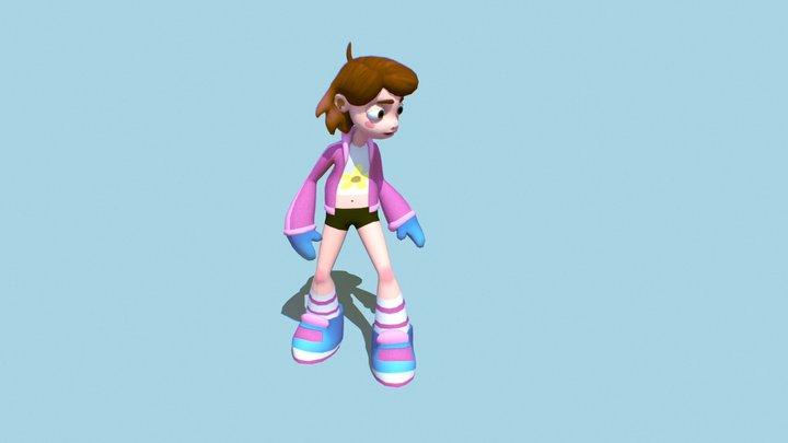 Hannah (Original Character) 3D Model