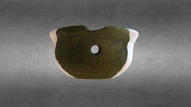 Reconstrucción volumétrica cerámica visigoda 3D Model