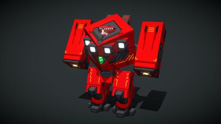 Mecha Guard OmegaXD 3D Model