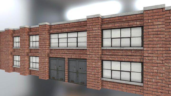 Industrial Building 1 3D Model