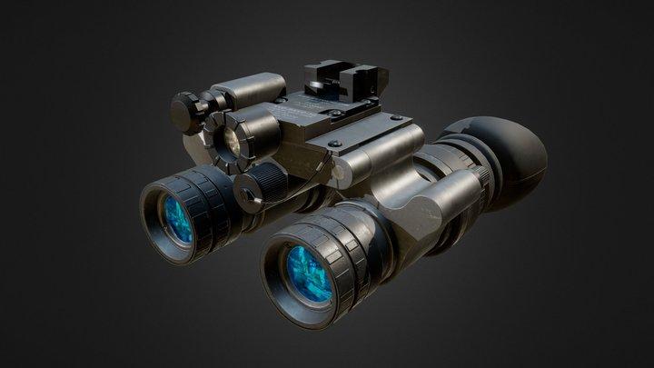 NIGHT VISION GOGGLES  (NVD-BNVD-3G) 3D Model