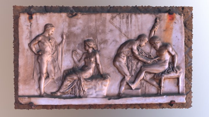 Herculaneum Tablet 3D Model