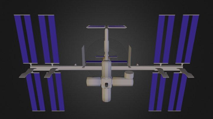 I S S Complete1 3D Model