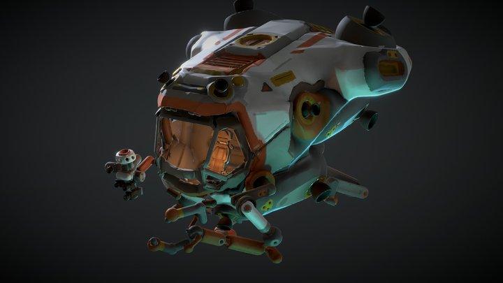 Exo-pod 3D Model