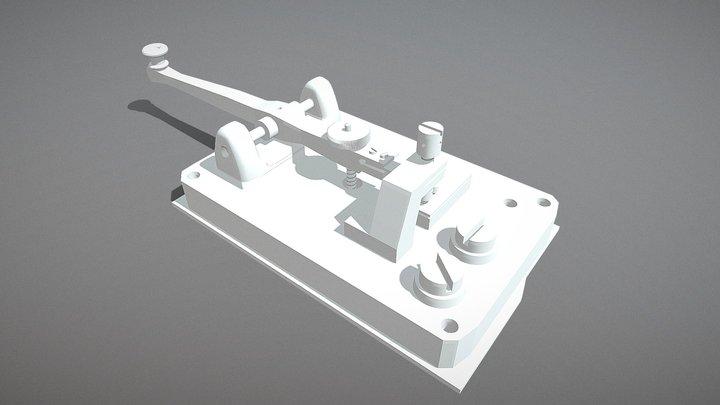 Old Telegraph 3D Model