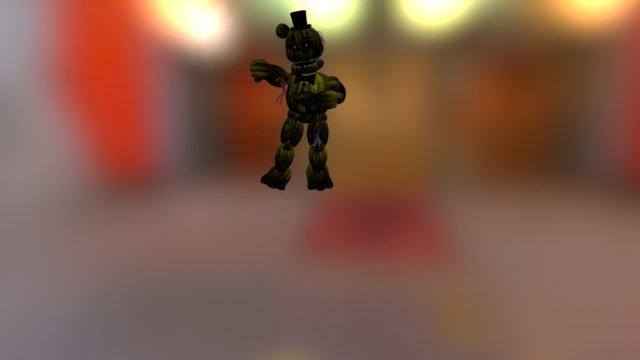 Gangnam Style(Phantom golden Freddy) 3D Model