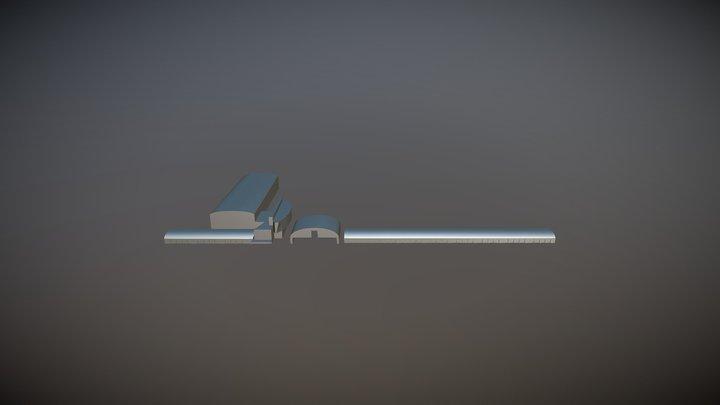 Gardermoen Air Force Base Norway 3D Model