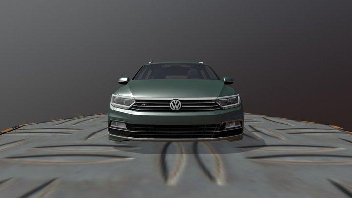 Volkswagen Passat Variant R- Line2016 3D Model