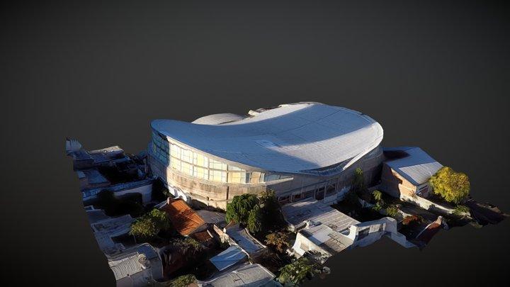 Club estudiantes Bahia Blanca 3D Model