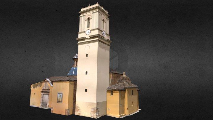 Iglesia de la Virgen del Olivar de Alaquás 3D Model