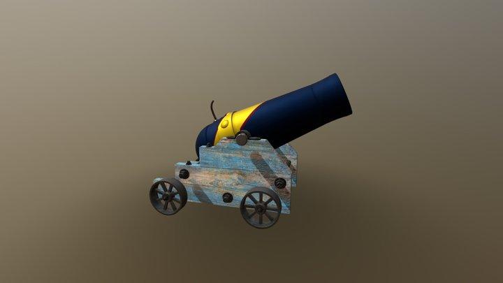 Canonball 3D Model