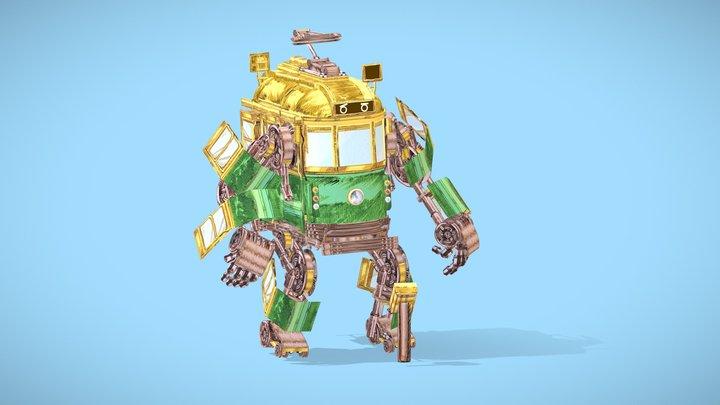 The TRAMS-FORMER 3D Model
