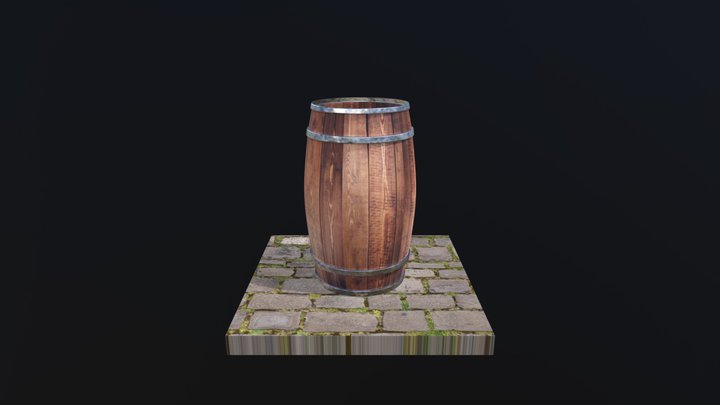 Barril | Barrel 3D Model