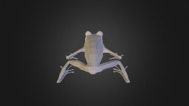 Hylomantis lemur 3D Model