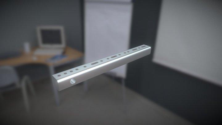 Wolfram Pendant 3D Model