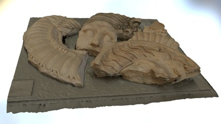 FREGMENTOS CLIPEOS MERIDA 3D Model