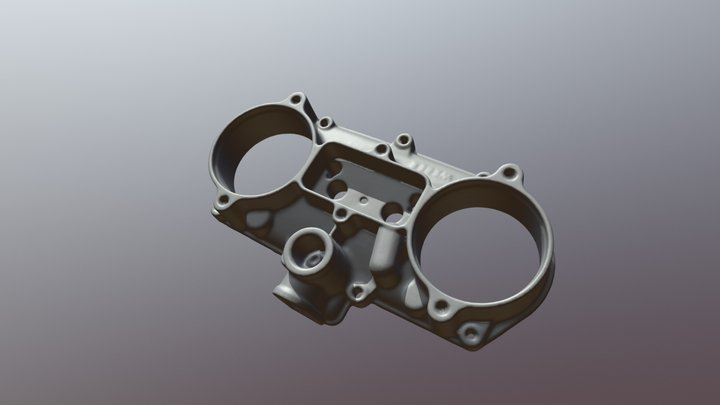 Caburettor 3D Scan 3D Model