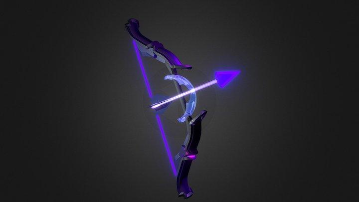Terraria - Shadowflame Bow 3D Model