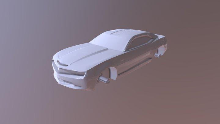 Camaro Hybrid - Body 3D Model